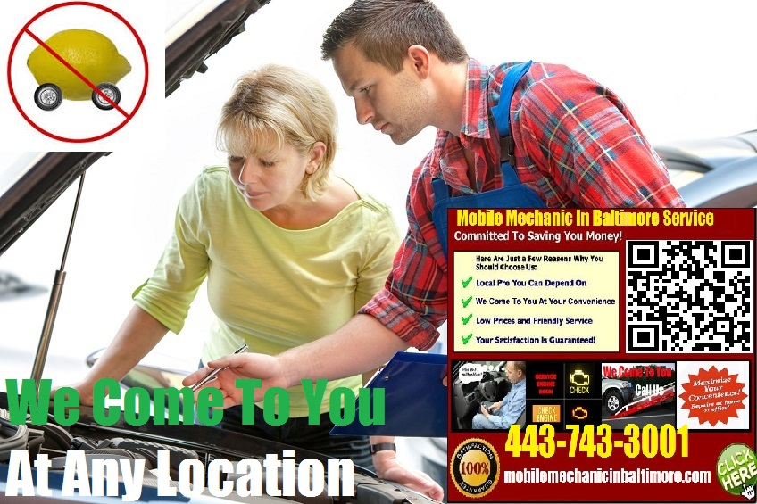 Pre Purchase Car Inspection Baltimore Mobile Auto Mechanic Service